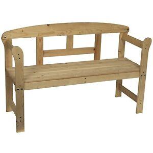 parkbank holz friesenbank unbehandelt gartenbank sitzbank bank holzbank neu ebay. Black Bedroom Furniture Sets. Home Design Ideas