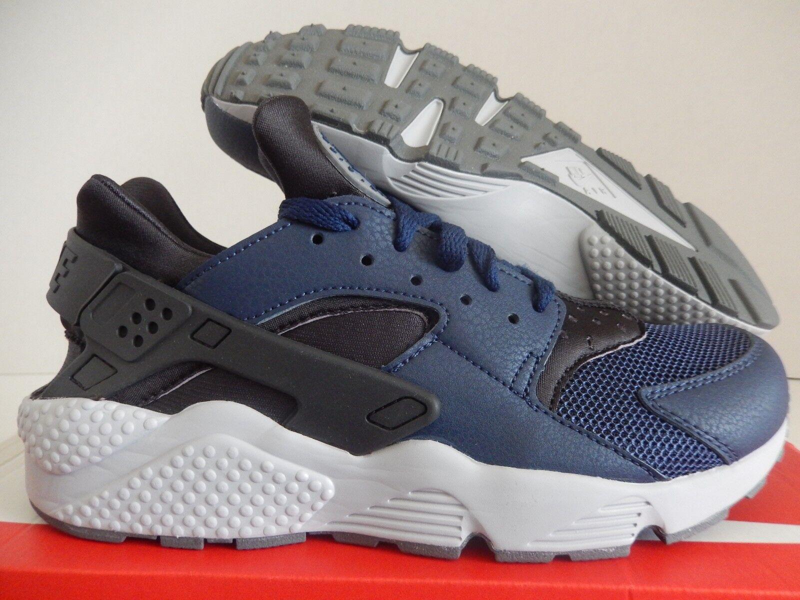Nike air air Nike huarache mitternacht marine Blau-dark ash-Grau sz 8,5 [318429-409] 2ebb18