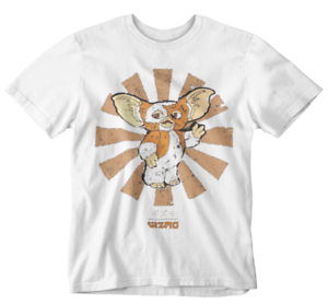 Gizmo Gremlins T-Shirt Movie Cult 80s Classic Halloween Horror Chinese Tee