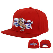 Bubba Gump Shrimp CO Hat Forrest Gump Costume Embroidered Snapback Cap Red bae596093362