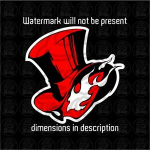 Persona 5 Phantom Thieves Car Decal Sticker Cars, Laptops, Windows