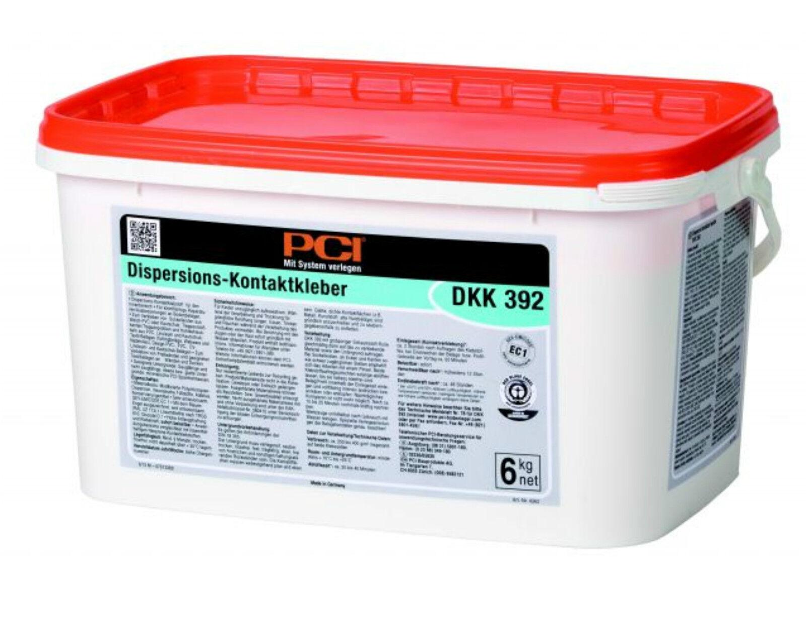 PCI DKK 392 portamento-contatto colla 6 kg diluzione-colla contatto