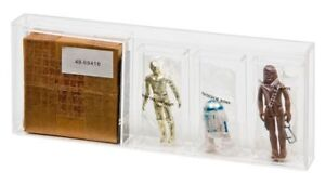 GW-Acrylic-Display-Case-SEARS-Vintage-Star-Wars-amp-ROTJ-3-Pack-Mailer-AMC-005