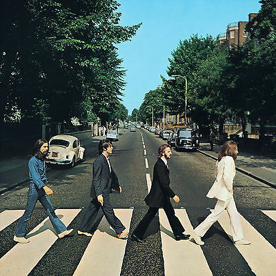 The Beatles ABBEY ROAD Retro Album Cover Poster Various Sizes