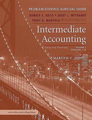 Intermediate Accounting: Intermediate (Chapters 1-14) v. 1: Problem Solving Surv