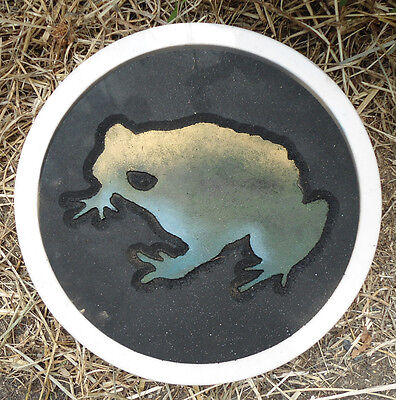 Gostatue MOLD plaster,concrete frog stepping stone mould