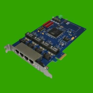 4fach-ISDN-Controller-HFC4S-PCIe-x1-Quad-Port
