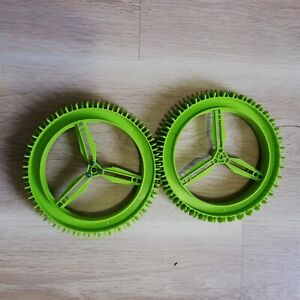 LEGO-PARTS-x2-Technic-Wheel-Hard-Plastic-160mm-D-x-28mm-Excellent