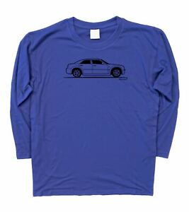 3XL Mens Original Sketch Chrysler 300c Hemi SRT-8  Long Sleeve T-Shirt S