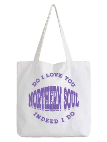 Northern Soul Music Homage Tote Bag Dance Music Bag Shopper Long Handles