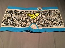 Wonder Woman Boy Short Underwear NWT Sz S Free Shipping Seamless Comic Print