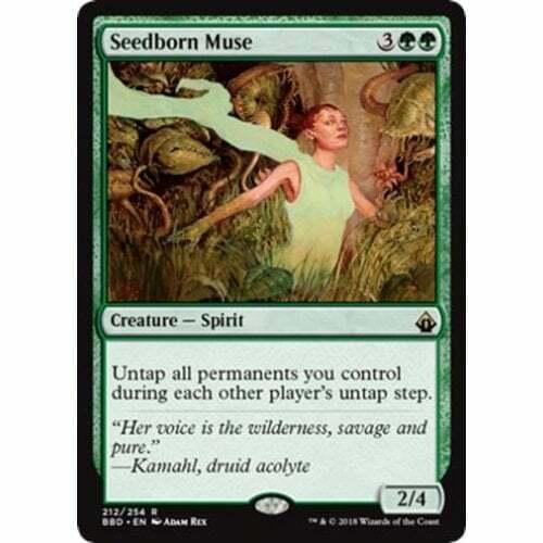 MTG BATTLEBOND Seedborn Muse