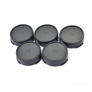 Lot-of-5-Pieces-Rear-Lens-Caps-Cap-for-Canon-FD-FL-50mm-F1-4-F1-2-F1-8-200mm