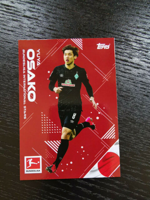 Topps now on demand 2020 liga International Osako SV Werder Bremen