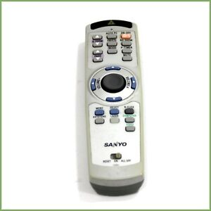 Genuine-Sanyo-CXMJ-projector-remote-control-tested-amp-warranty
