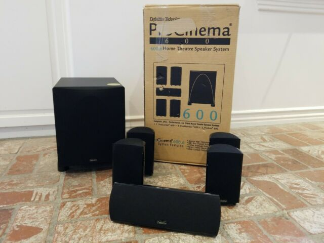 Definitive Technology Procinema 600 Speaker System