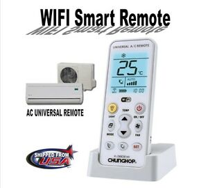 Details about WiFi Smart Universal Air Conditioner Remote Control CHUNGHOP  K-380EW 2G/3G/4G