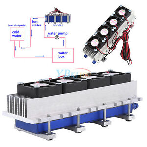 Image Is Loading Quad Core Thermoelectric Peltier Air Cooling Device Cooler