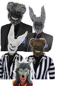 Masken Halloween Karneval Fasching Lustig Horror Grusel Latex Hart