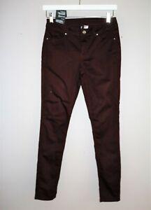 DIVIDED-Brand-Dark-Red-Skinny-Leg-Jeans-Size-EUR-38-US-08-BNWT-SA55
