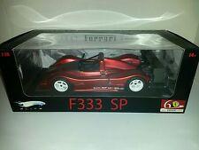 Ferrari F333 SP Rouge Metallic Red  Elite 60 ans 1/18 Série limitée