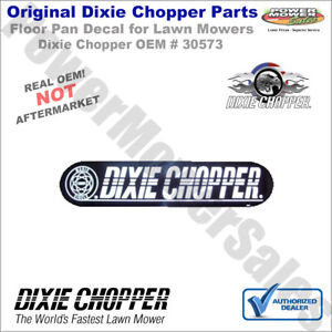 Details about 30573 Dixie Chopper Floor Pan Decal for 5018 Magnum & Other  Lawn Mowers