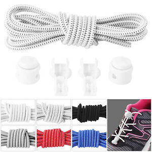 Elastic-Lace-System-Easy-Lock-Shoe-Laces-Shoelaces-Runners-Adults-Kids-UK