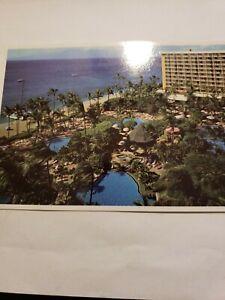 Details About Intage Rppc Postcard Unused Westin Maui Hawaii Kaanapali Beach A1 17