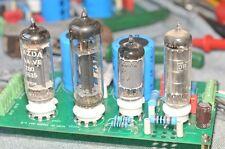 TUBE EZ80 6AU6 OB2 A2293 High voltage tube Variable Power Supply PCB 100ma 300V
