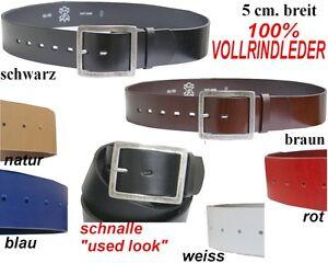 vera-pelle-di-mucca-Cintura-Cintura-in-pelle-5-cm-largo-SUPER-STABILE-NUOVO