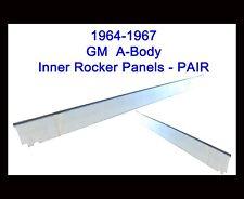 1964-67 BUICK SKYLARK PONTIAC GTO LEMANS TEMPEST INNER ROCKER PANELS NEW PAIR!!