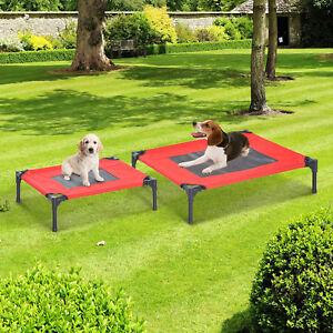 Cama Mascota Exterior Terraza Jardín para Perro Gato Cama S/M para Domir Relajar