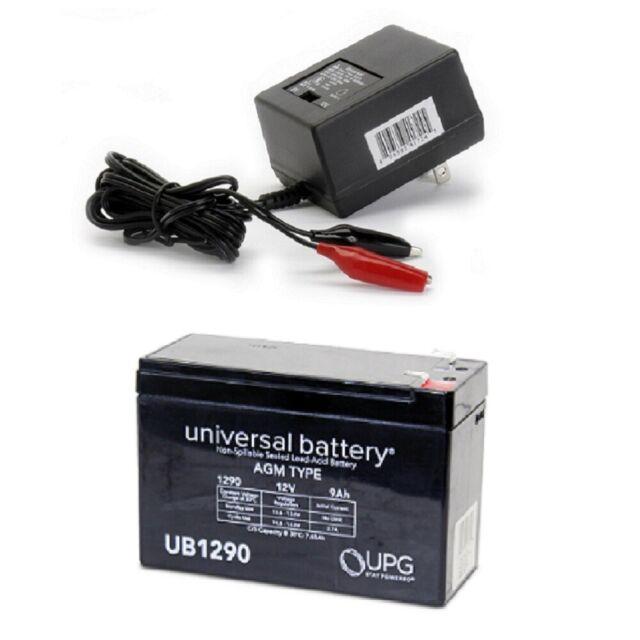 12V Charger Mighty Max 12V 7.2AH SLA Battery for Lowrance Portable Fishfinder