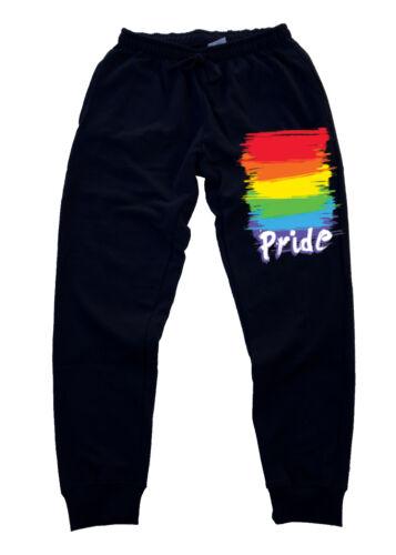 New Men/'s Gay Pride Jogger Training sweatpants Gym pants LGBT lesbian rave party