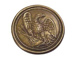 "2-1/2"" EAGLE BREAST BELT BUCKLE CIVIL WAR REPRODUCTION NEW"