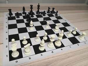 Professional Tournament Chess Set 51x51cm Large Board FIDE Standard DCP03G DMV03