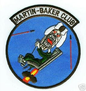 VIETNAM-ERA-MARTIN-BAKER-CLUB-Mk5-Mk7-EJECTION-SEAT-INSIGNIA-iron-on-PATCH