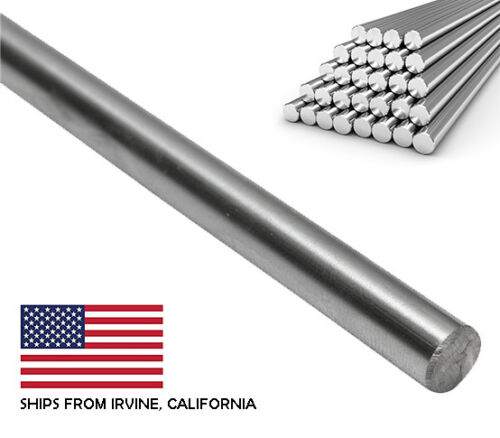 8mm x 1000mm Case Hardened Chrome Linear Motion Rods//Shafts//Guides G6 Tolerance