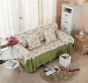 Roses-Elegant-Canvas-SlipCover-Sofa-Cover-TauL-Protector-for-1-2-3-4-seater-O