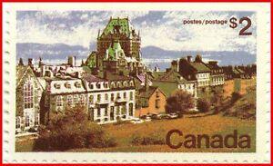 Canada-Stamp-Mint-601-Definitive-Quebec-2-1972