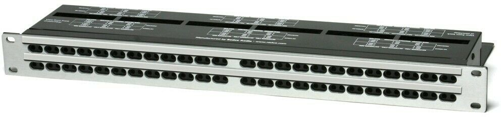 rotco R196-D25PG   96 Point TT to DB25 Patchbay