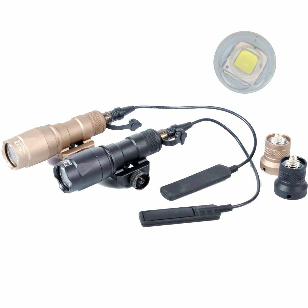 Tactical M300C Light Airsoft Flashlight 20mm Rail Mount  For Hunting  get the latest