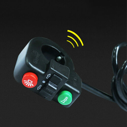2in1//3in1 Electric Bicycle Scooter Switch Horn Button Turn Head Light E Bike