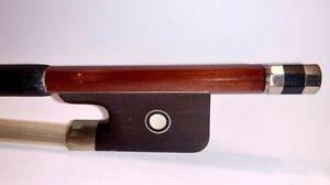 Pernambuco-Cello-Bow-Full-Size-4-4-Octagonal-Stick-Real-Horse-Hair-Ebony