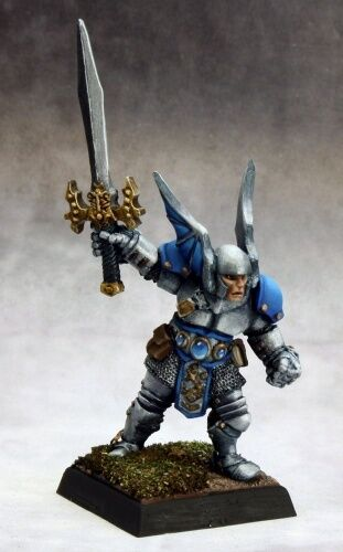 Vorn Reaper Miniatures Pathfinder Paladin Fighter Warrior Knight Hero Melee