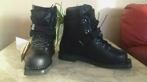 NEW-Alico-Double-Expedition-TELEMARK-nordic-touring-SKi-Boots-amp-inners-Size-5-14