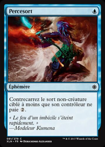 MRM FRENCH 4x Percesort Spell Pierce MTG Magic XLN