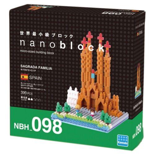 Sagrada Familia Spain Nanoblock Miniature Building Blocks New Sealed Pk NBH098
