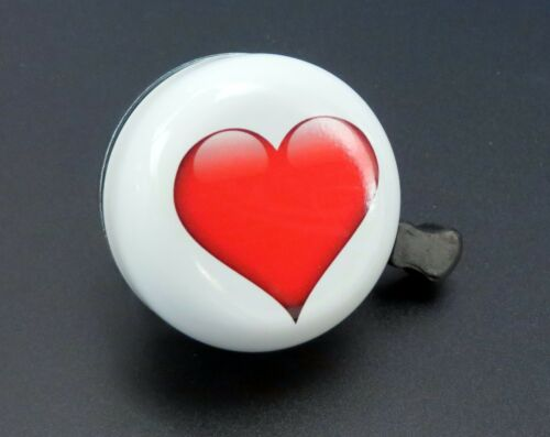 Fahrradklingel mit Herz Fahrrad Glocke Klingel 54mm