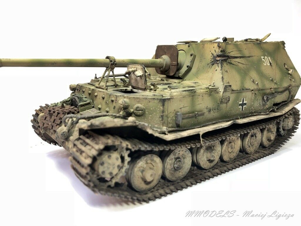 Sd.Kfz 184 Ferdinand - Kursk 1943 - scale 1 35 - built and painted